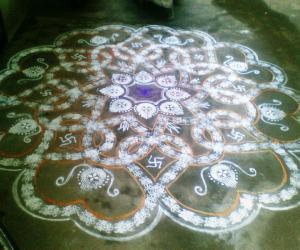 Rangoli: Marghazhi Kolam - 23
