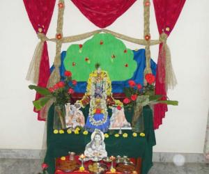 Rangoli: Happy Krishna Janmastami