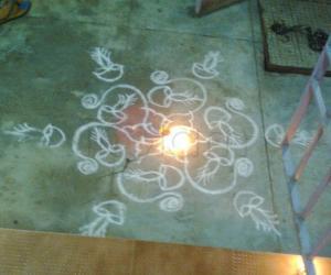 Rangoli: Third one of my creation