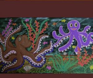 Rangoli: Octopus