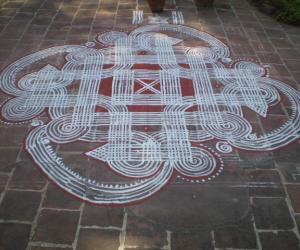 Rangoli: A different design