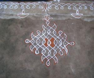 Rangoli: chikku kolam18