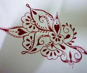 Rangoli: Simple Design