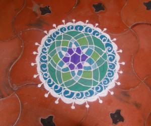 Rangoli: basic design