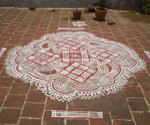 Rangoli: just like that