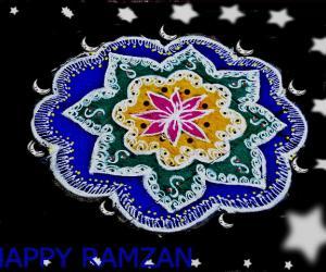 Rangoli: happy ramzan