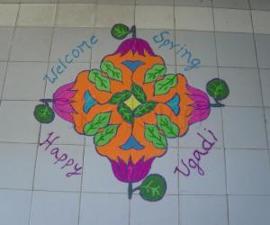Rangoli: UGADI2011