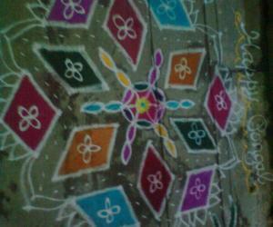 Rangoli: my pongal kolam