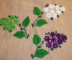Rangoli: embroidary--Flowerbunch