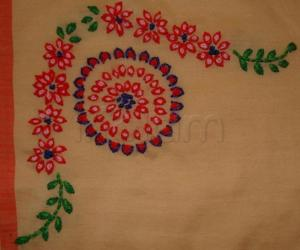 Rangoli: embroidery