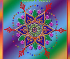 Rangoli: holy rangoli