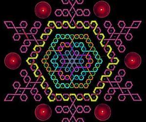 Hexagonal paDikOlam - 11