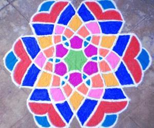 Rangoli: INSPIRATION RANGOLI-1st Design