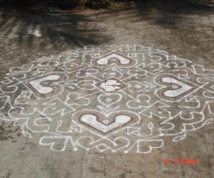 Rangoli: kolam11