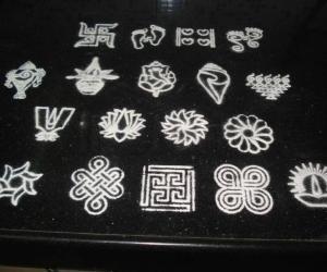 Rangoli: Stencil Designs