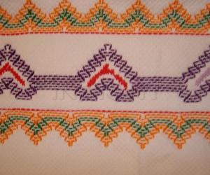Rangoli: Huck Embroidary