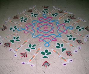 Rangoli: St. Patrick's day