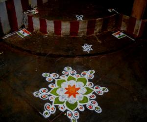 Rangoli: independence day