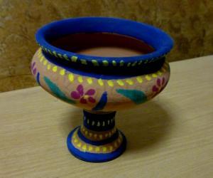 Rangoli: Simple pot