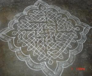 Rangoli: sikku kolam 31