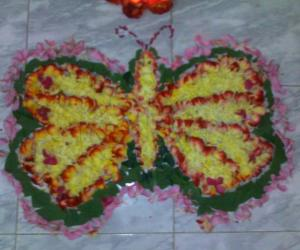 Rangoli: My mom's pookalam