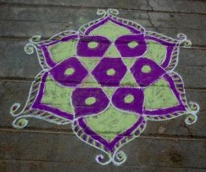 Navarathri rangoli 3