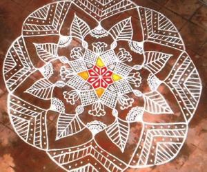 Rangoli: PURATTAASI 1st SATURDAY KOLAM