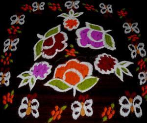 Rangoli: roses (lets get growing)