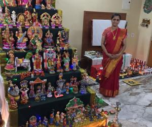 navarathri golu with theme moral stories