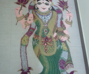 Rangoli: akshaya tiruthiai special mahalakshmi