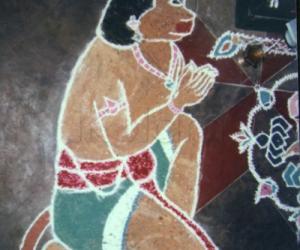 Rangoli: Bhaktha Hanumar