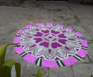 Margazhi kolam day-13!