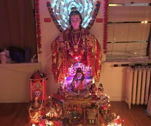 Golu Theme - Shiv parivar and Rural world market By Sujitha Jayagopal