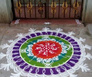 Rangoli: Margahi kolam
