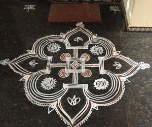 Navaratri Kolam