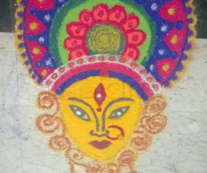 Rangoli: Vijaya Dasami Rangoli