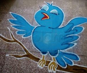 Rangoli: Tweety