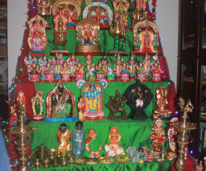 "Our Golu Themed ""108 Divya Desams"""
