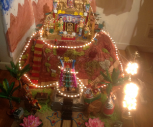 My goku for 2014  dedicated to Thripathi hills and Lord Venkateswara