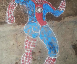 Rangoli: Spiderman