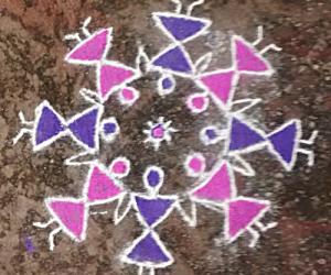 Rangoli: Worli rangoli
