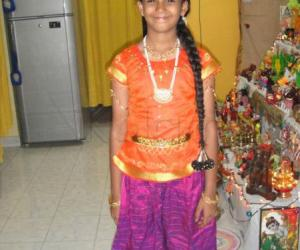 Best dressed girl in navarathiri2011