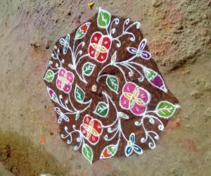 Rangoli: Dotted Kollam