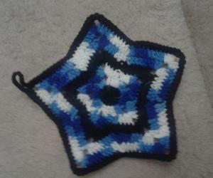 star dishcloth