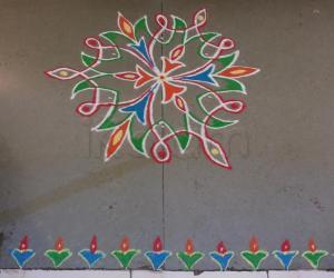 Rangoli: Margazhi Day 28