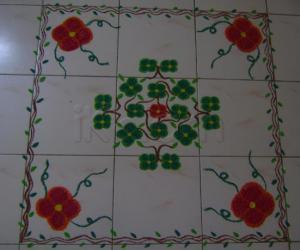 Rangoli: St. Patricks Day Rangoli