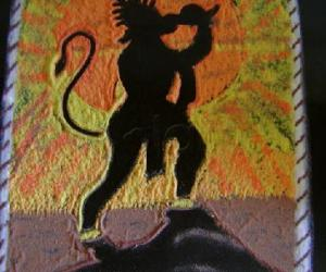 Rangoli: Hanuman Jayanthi