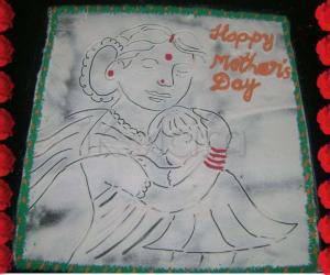 Rangoli: Mother's Day