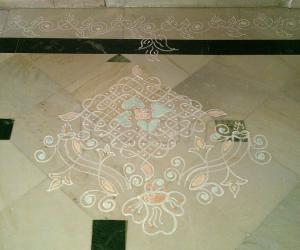 Rangoli: melika design