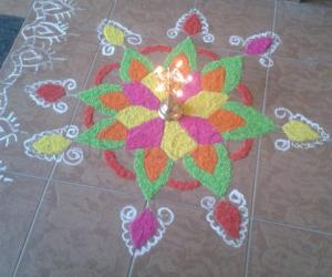 Diwali rangoli contest 2012